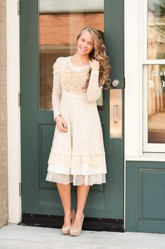 Love and Lace Dress - Dainty Jewell's