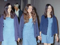 The Manson women arrived in court. They tried to take the blame for the crimes so their leader could go free.