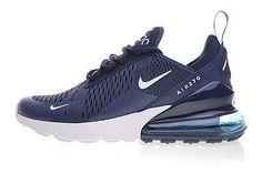 premium selection 14a7d ea5d3 Acquista Nike Air Max 270 Blu Bianca 410 In Vendita