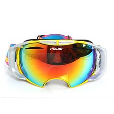 63.42$  Watch here - http://ali3uz.worldwells.pw/go.php?t=2047179526 - POLISI Snowmobile Snowboard Skiing Snow Goggles Anti-Fog Glasses Eyewear Replaceable lenses Night Vision and Daytime