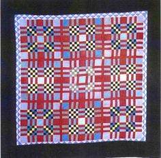 Amish Quilt—9 Patch variations, ca 1930