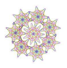 Spirograph Arrangement 2 by katiebann on deviantART