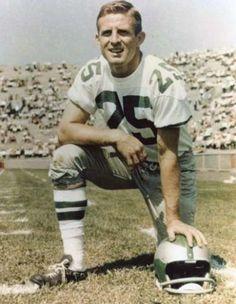 Tommy McDonald Philadelphia Eagles 1957-63, Dallas Cowboys 1964, Los Angeles Rams 1965-66, Atlanta Falcons 1967 and Cleveland Browns 1968. HOF Class '98.