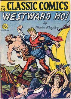 Classic+Comic+Book+Covers   Classic Comics/Classics Illustrated 14 A, Sep 1943 Comic Book by ...