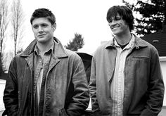 Sam and Dean #Supernatural #bnw