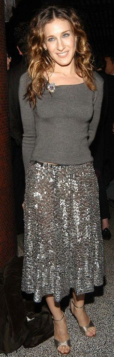 29 dazzling sequin skirt outfits you should try #sequin #skirt