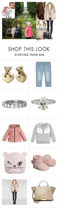 """""""Watching her parents spend time with Estelle and Josephine in the private gardens of Drottningholm Palace"""" by swedish-princess ❤ liked on Polyvore featuring Chaumet, Burberry, Monnalisa, L.K.Bennett, ZAC Zac Posen and Yves Saint Laurent"""