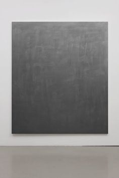 Gardar Eide Einarsson Stainless Steel (Fine) II, 2009  Acrylic paint on canvas /wooden stretcher 183 x 220 x 4 cm / unframed