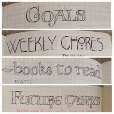 Bullet Journal Challenge day 6: A few of my Collections.  @tinyrayofsunshine