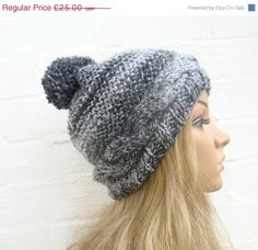 d48ced3cb11 BOXING DAY SALE Hand Knit Hat Women s Cabled by Clickclackknits Ski Hats