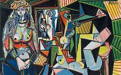 Les femmes d'Alger, Version O (1955) by Pablo Picasso, which sold for US$179,365,000 at Christie's, New York on May 11, 2015 - new record for most valuable work of art ever sold at auction.