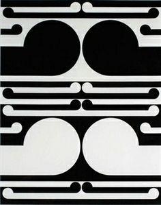 Gordon Walters, Study for Auckland City Art Gallery Poster, 1982 Maori Designs, Geometric Designs, Post Painterly Abstraction, Deco Paint, New Zealand Art, Nz Art, Maori Art, Kiwiana, Colour Field