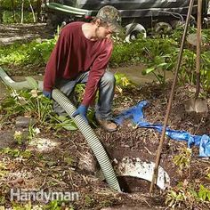 Septic tank pumping: How a Septic Tank Works http://www.familyhandyman.com/plumbing/how-a-septic-tank-works/view-all