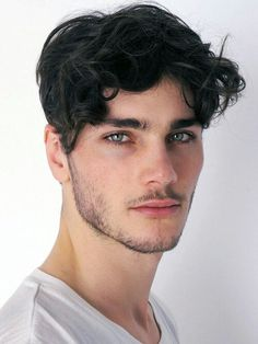 men's hair - curls in all the right places