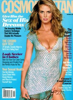 Met Heidi Klum, at this Cosmo cover photo shoot in 1999 in NYC. She's stunning. Heidi Klum, Top Models, Super Skinny Body, Instyle Magazine, Cosmopolitan Magazine, Cosmo Girl, Female Actresses, Korean Actresses, Models Wanted