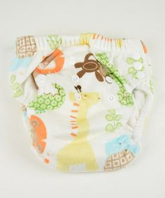 Look what I found on #zulily! Safari Fun Minky Training Pants by MG Baby #zulilyfinds