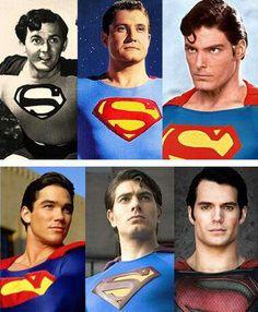Superman Thru The Years Superhero MoviesHenry CavillLive