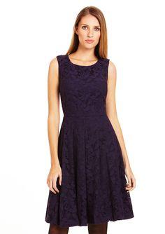 ESLEY Sleeveless Shift Dress with Pockets ideeli  e32192b08