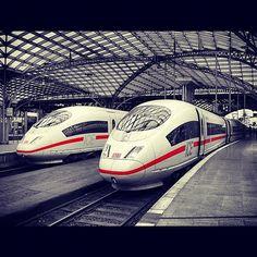 Die Bahn - ICE Train - Photo by jmeetsl