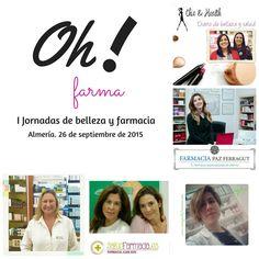"#EquipoOh - I Jornadas de Belleza y Farmacia ""Oh! farma""   #ohfarma2015 #consejosdefarmacia #cdf_nheken #consejosdefarmacia_nheken #cdf #farmablogger #farmacia #farmaciaybelleza #dermofarmacia #dermocosmetica #ilovedermo"