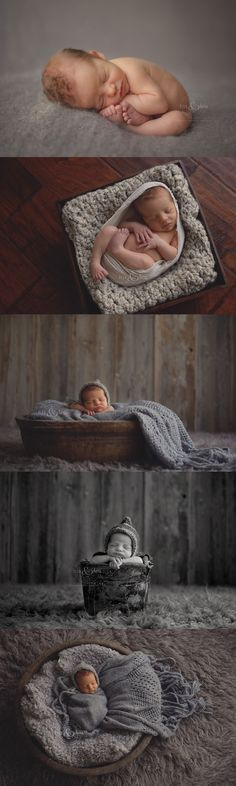 #iowa Newborn Photographer, Darcy Milder | His & Hers | Des Moines, IA 8 day old newborn baby