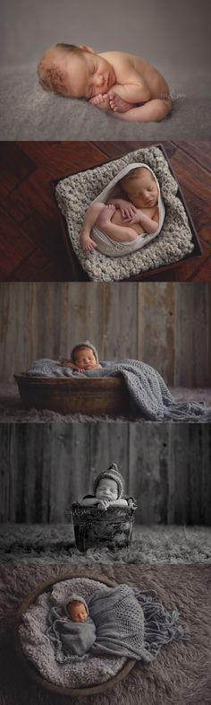 #iowa Newborn Photographer, Darcy Milder | His & Hers | Des Moines, IA 8 day old newborn baby