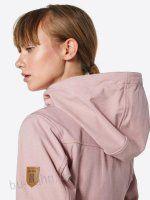 Derbe Jacke 'Peninsula' in rosé Softshell, Ruffle Blouse, Tops, Women, Fashion, Jackets, Moda, Fashion Styles, Fashion Illustrations