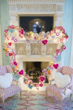 A Valentine's Family Room Filled With Love!
