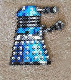 Dr. Who Dalek Perler beads by AdorableLittleCrafts