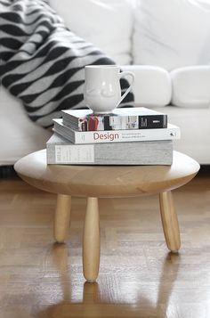 I love this little Ikea side table!