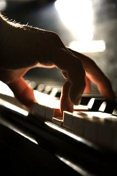 ˚Still Life Piano Hand by Alex Minkin