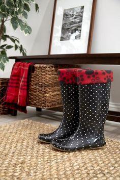 Tutorial: Fleece boot liners