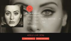 (15) Ashely visited Adele.com. It showed how Adele faced her customers. It was all about song and live, and herself. Ashley could not see any miscellaneous. Design was very simple and focused on live. Also, it was very easy to buy her album and concert ticket. Ashley clicked 'Buy 25' and select retail brand. She bought 25. Ashley's last purchase of CD was seven years ago. Adele has attractiveness in her voice and that made Ashley purchase the album.