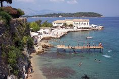 Κέρκυρα ~ island of Corfu Saint Michael, Cool Places To Visit, Great Places, The Durrells In Corfu, Corfu Island, Island Beach, Greece Hotels, Honeymoon Spots, San Miguel