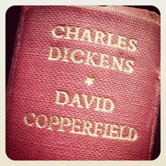 David Copperfield-my second favorite Dickens. This book has some really memorable quotes about marriage and about finance.