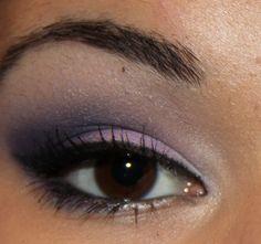 purple smokey eye hooded eyes | FOTD: Purple Smokey Eyes