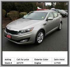 2013 Kia Optima LX Sedan   Overall Height: 57.3, Remote Power Door Locks, 4-Wheel Abs Brakes, Suspension Class: Regular, Independent Rear Suspension, Engine Immobilizer, Rear Bench, Abs And Driveline Traction Control, Rear Leg Room: 34.7, Cargo Area Light, Rear Center Seatbelt: 3-Point Belt, Tires: Speed Rating: H, Multi-Link Rear Suspension, Manual Front Air Conditioning, Bluetooth Wireless Phone Connectivity