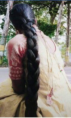 Two Braids, Braids For Long Hair, Beautiful Braids, Beautiful Long Hair, Indian Hairstyles, Girl Hairstyles, Indian Long Hair Braid, Super Long Hair, Beautiful Girl Indian