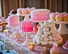 mesa de dulces para boda elegante - Buscar con Google