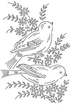 birds 6 by love to sew, via Flickr