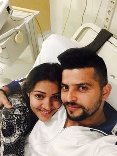 Cricketer Suresh Raina, who was super- excited to welcome his baby has been blessed with baby girl. The couple has named the girl Shreyanshi. The Gujarat Lions skipper flew to Amsterdam to be with his wife for the birth of his first child-
