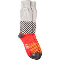 Dazzle Check Sock by Paul Smith #Socks #Paul_Smith