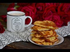 Gluténmentes gofri recept - Schär Waffle Iron, Baked Goods, Biscuits, French Toast, Gluten Free, Sweets, Bread, Dishes, Make It Yourself