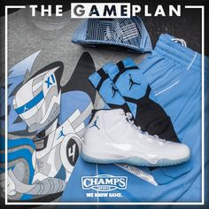 09f9b510049e The Game Plan by Champs Sports - Jordan Legend Blue Collection
