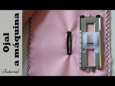 Ojal a máquina en 4 pasos: Tutorial paso a paso. DIY costura - YouTube