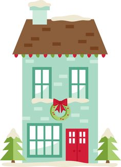 MKC_Christmas House SVG
