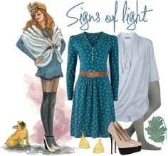 """""""Signs of Light"""" by nora-nazeer ❤ liked on Polyvore"""