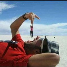 optical illusions, perspective