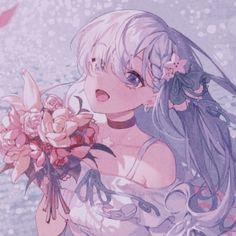 Anime Girl Pink, Pretty Anime Girl, Cool Anime Girl, Kawaii Anime Girl, Anime Art Girl, Anime Girls, Cute Anime Profile Pictures, Cute Anime Pics, Anime Girl Drawings