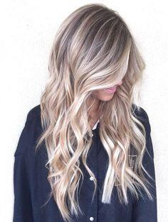 26 Balayage Blonde Hair Color